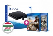 PlayStation 4 (PS4) Slim 500GB + Wildlands + For Honor PS4