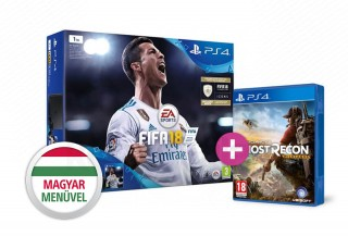 PlayStation 4 (PS4) Slim 1TB + FIFA 18 + Wildlands PS4