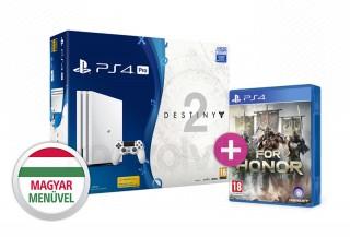 PlayStation 4 (PS4) Pro 1TB + Destiny 2 (Limitált kiadás) + For Honor PS4