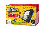 Nintendo 2DS (Black-Blue) + New Super Mario Bros. 2 3 DS