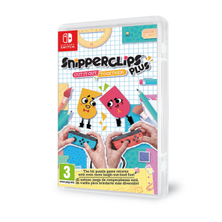 Snipperclips Plus: Cut it out, together! Nintendo Switch