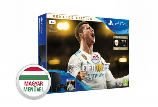 PlayStation 4 (PS4) Slim 1TB + FIFA 18 Ronaldo Edition PS4