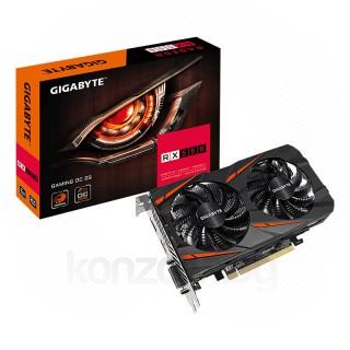 Gigabyte Radeon RX 550 Gaming OC 2GB GDDR5 GV-RX550GAMING OC-2GD (Bontott) PC