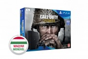 PlayStation 4 (PS4) Slim 1TB + Call of Duty WWII (Fekete) PS4