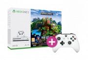 Xbox One S 500GB + Minecraft + Minecraft Story Mode + 3 hónapos LIVE Gold + kontroller XBOX ONE