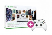 Xbox One S 500GB + 3 hónapos Game Pass + 3 hónapos LIVE Gold + kontroller XBOX ONE