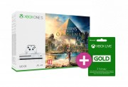 Xbox One S 500GB + Assassin's Creed Origins + 3 hónapos LIVE Gold tagság XBOX ONE