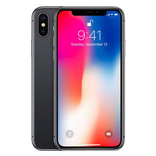 Apple iPhone X 64GB Space-Gray Mobil