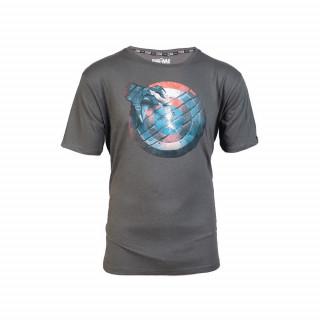 Marvel CW Captain America Shield póló (XL-es méret) AJÁNDÉKTÁRGY