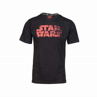 Star Wars Red Logo póló (L-es méret) AJÁNDÉKTÁRGY