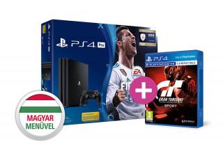 PlayStation 4 Pro (PS4) 1TB + FIFA 18 + Gran Turismo Sport PS4