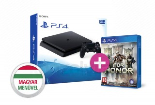 PlayStation 4 (PS4) Slim 500GB + That's You + For Honor PS4