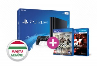 PlayStation 4 Pro (PS4) 1TB + For Honor + Gran Turismo Sport PS4