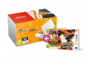 New Nintendo 2DS XL (White-Orange) + Pokemon Ultra Sun + Yokai Watch 2 FL 3 DS