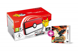 New Nintendo 2DS XL Pokeball Edition + Pokemon Ultra Sun 3DS