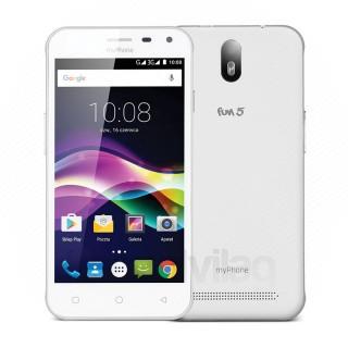 MyPhone FUN 5 White Mobil