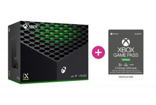 Xbox Series X 1TB + 3 hónap Game Pass Ultimate előfizetés