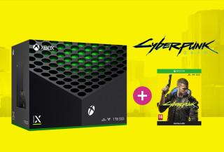 Xbox Series X 1TB + Cyberpunk 2077