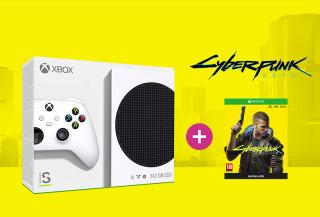 Xbox Series S 512GB + Cyberpunk 2077