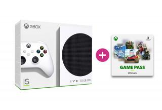 Xbox Series S 512GB + 3 hónap Game Pass Ultimate előfizetés Xbox Series