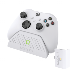 VENOM VS2870 Xbox Series S & X fehér töltőállomás + 1 db akkumulátor