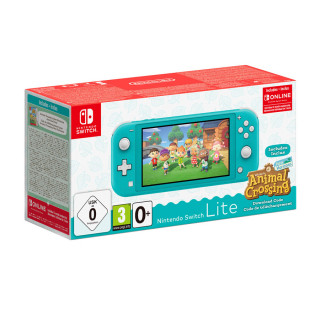 Nintendo Switch Lite Türkiz & Animal Crossing: New Horizons Edition