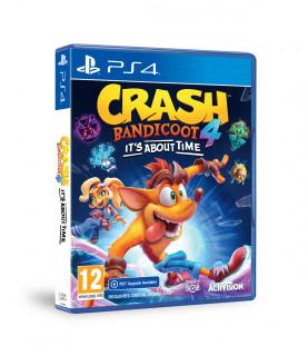 Crash Bandicoot 4: It's About Time (használt) PS4