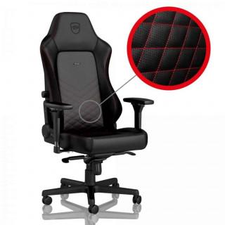 Noblechairs HERO PU Bőr Fekete/Piros (NBL-HRO-PU-BRD) (Bontott) PC