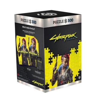 Cyberpunk 2077 Keyart Female V Puzzles 500 Ajándéktárgyak