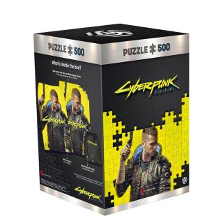 Cyberpunk 2077 Keyart Male V Puzzles 500
