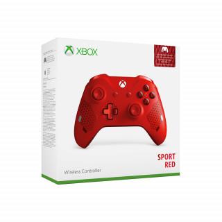 Xbox One vezeték nélküli kontroller (Sport Red Special Edition) (Bontott)