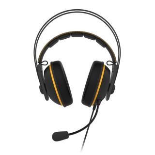ASUS TUF GAMING H7 CORE Fekete-sárga Gamer Headset (90YH01RY-B1UA00) (Bontott)