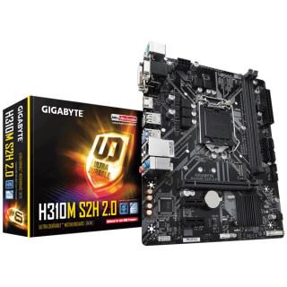 Gigabyte H310M-S2H 2.0 Intel H310 LGA1151 mATX alaplap (Bontott)