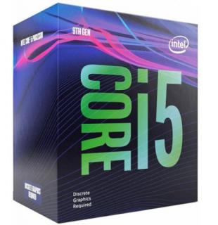 Intel Core i5 2,9GHz LGA1151 9MB (i5-9400F) box (ventilátor nélkül)processzor (Bontott)