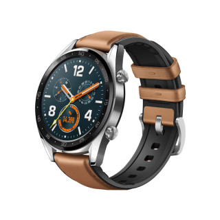 Huawei Watch GT Classic Silver (Barna) (55023257) (Bontott)