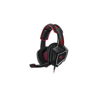 Spirit of Gamer Fejhallgató - XPERT H500 (7.1, mikrofon, USB, 2,2m kábel, hangeroszabályzó; vörös) (Bontott)