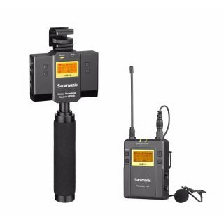 Saramonic UwMic9 Kit12 TX9+SP-RX9 Vezeték nélküli Mikrofon Rendszer