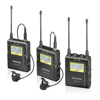 Saramonic UwMic9 Kit2 RX9+2xTX9 Vezeték nélküli Mikrofon Rendszer