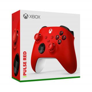 Xbox vezeték nélküli kontroller (Piros)