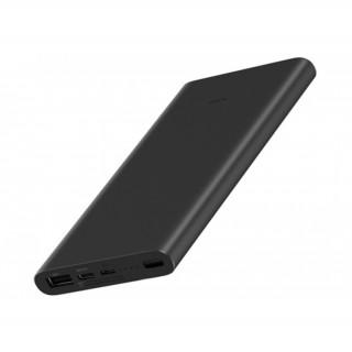 Xiaomi Mi Power Bank 3 Mi 18W Fast Charge, 10000mAh, Quickcharge 3.0, 2xUSB (Fekete)
