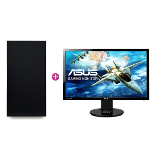 KV Medium Gamer PC Intel i5-6600K,16GB Ram,GTX 1060 6GB (Használt) + ASUS VG248 144hz monitor (Használt)
