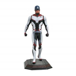 Diamond Select Toys Gallery Marvel: Captain America Avengers Team Suit Szobor