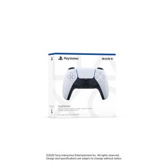 PlayStation 5 (PS5) DualSense Controller (White-Black) (Bontott)