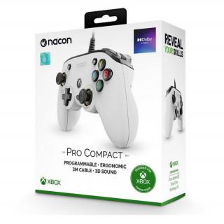 Nacon Pro Compact kontroller (Fehér)