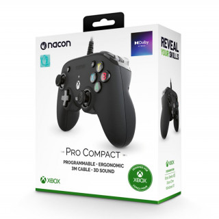 Nacon Pro Compact kontroller (Fekete)