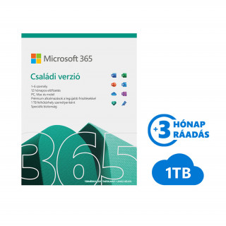 Microsoft Office 365 Családi verzió ESD (Letölthető) (6GQ-00092)