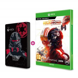 SEAGATE Xbox 2TB HDD Jedi skin + Star Wars Squadrons játékszoftver