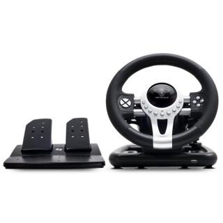 Spirit of Gamer Kormány - RACE WHEEL PRO 2 (kormány+pedálok+váltó, PC / PS3/4 / XBOX One kompatibilis, fekete) (Bontott)
