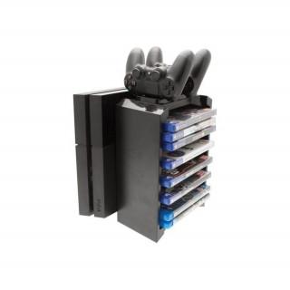 VENOM VS2736 Games Storage Tower & Charge PS4 állvány (Bontott)