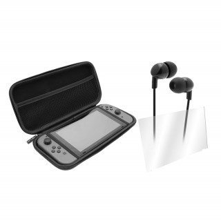 VENOM VS4793 Nintendo Switch Starter Kit (kijelzővédő, fülhallgató, tok) (Bontott)